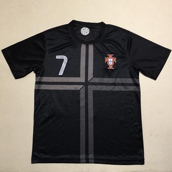wholesale dealer 7f920 1f1fb Ronaldo - Portugal Away Men's Soccer Jersey ⚽️